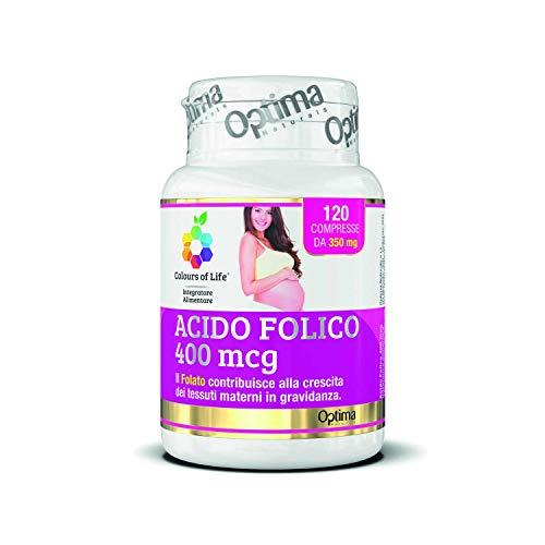 Colours Of Life Acido Folico, 120 Compresse da 350 Mg