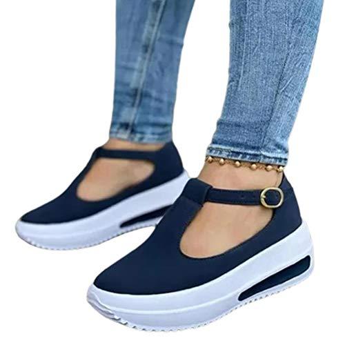 Chilits 1 par de zapatos de cuña con correa de plataforma para mujer, zapatos de tacón de cuña superior, mocasines para niñas y mujeres, regalo de cumpleaños para el día de la madre