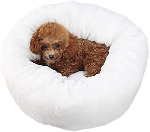 YLCJ Seizoenen afneembaar hondenbed, ademend bed voor huisdieren, hondenbed, Oxford kattenbed, kinderbed, meerdere kleuren (kleur: grijs, afmetingen: S (35x23 cm)), S(35x23cm), Kleur: wit