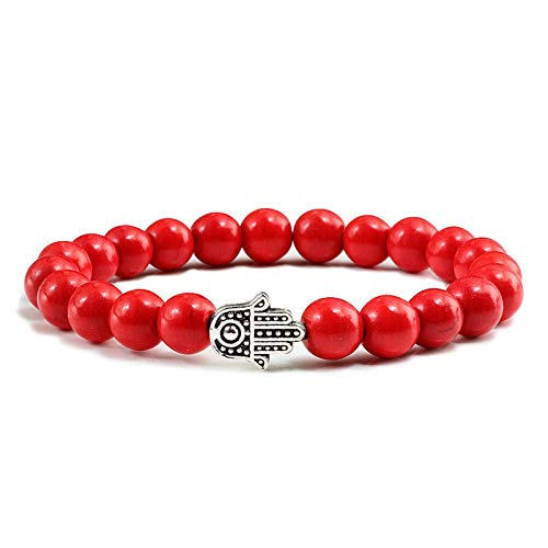 manyan Damenarmband, Legierung Überziehen Bergamotte Perlen Mit Bunten Türkisfarbenen Armbändern Yoga Perlen Armbänder