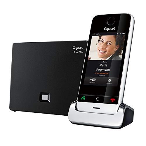 Gigaset SL910A - Schnurloses Design-Telefon mit Anrufbeantworter - großes 3,2
