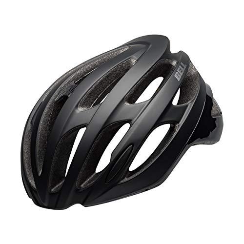 BELL Unisex - volwassenen Falcon Mips fietshelm Road, mat/glanzend zwart, XL (61-65cm)