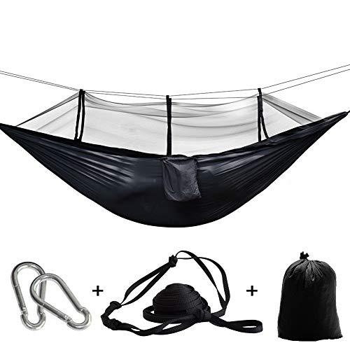 Chirs Offer Camping Fallschirm Stoff Netz Hängematte Anti-Moskito hängenden Hamak für Außenterrasse Schlaf Hamac Schaukel Baum Bett Strandkorb
