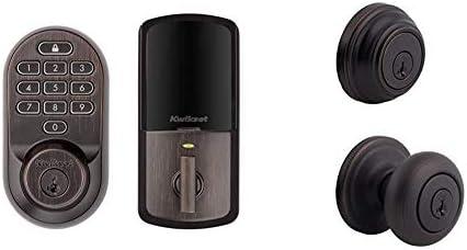 Kwikset 99380 002 Halo Wi Fi Smart Lock Keyless Entry Electronic Keypad Deadbolt 991 Juno Entry product image