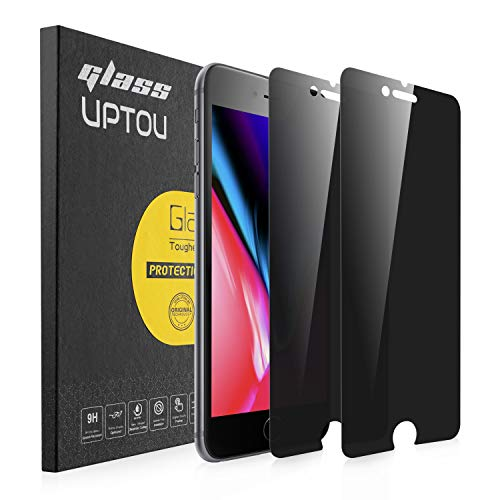 UPTOU Privacy Screen Protector for iPhone SE 2020, iPhone 8, iPhone 7,...