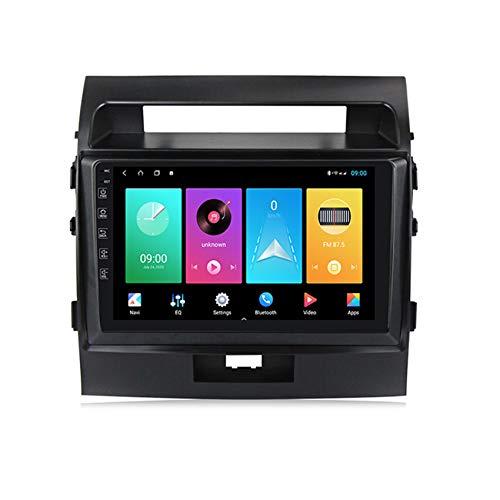 Amimilili Autoradio Pantalla Táctil De 1080P 2.5D para Toyota Land Cruiser 200 2007-2015 Manos Libres Bluetooth Controles del Volante FM/MP5 Apoyo Cámara de Marcha atrás,M100 1+16g