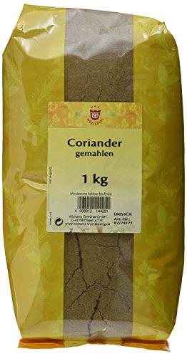 Wichartz Würzkönig Coriander gemahlen, 3er Pack (3 x 1 kg)