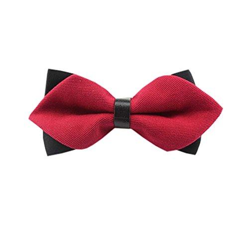 Black Temptation De Haute qualité des Hommes d'affaires Bowties de soirée de Mariage Bow Tie,17