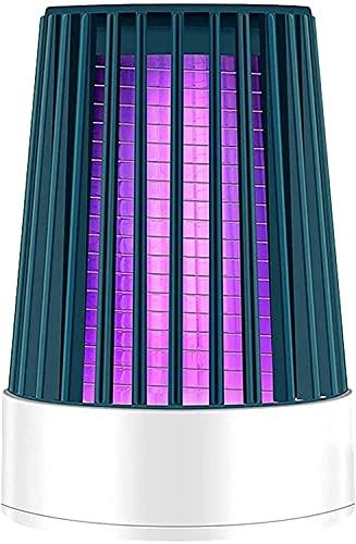 WXFCAS PORTATO Leggero USB PhotoCatalyst Electric Bug Insect Zapper Trap Muto Lampada di Controllo Muto per Home Garden Insect Repellente (Colore: A) (Color : A)