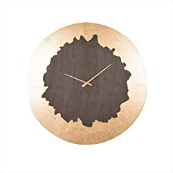 Cooper Classics Azalea Stone Gray 32-Inch Wall Clock
