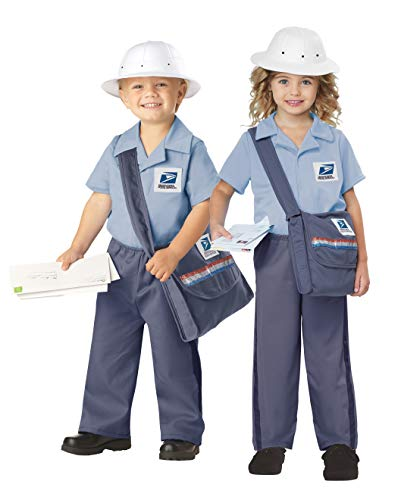 California Costumes Us Mail Carrier Toddler Costume