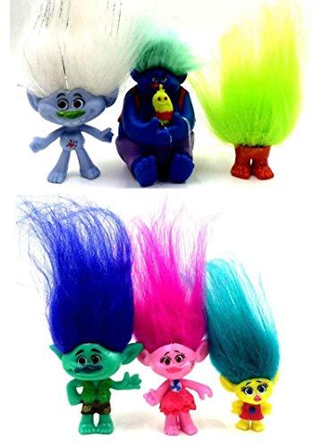 POPPY Trolls personaggi del film giocattoli
