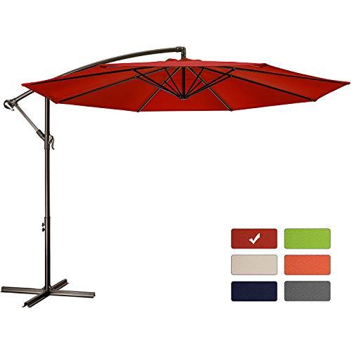 Patio Umbrella 10 ft Cantilever Offset Umbrella...