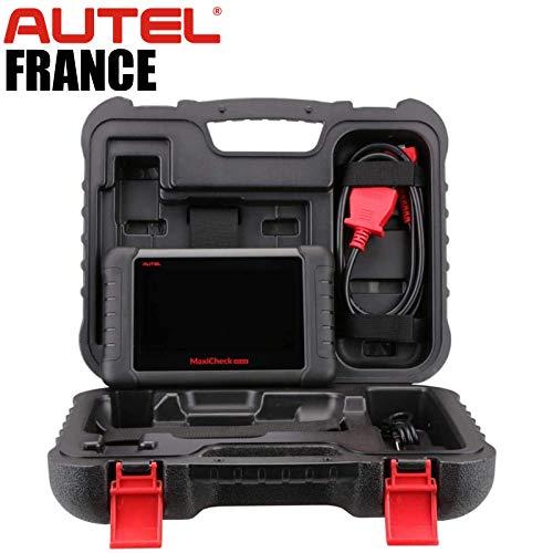 Autel MX808 TS [TPMS] + Pack 5 Gigas Logiciels - Valise Diagnostic Auto Pro Multi-Marques - Modèle France Authentique avec Garantie Autel Europe Effacements défauts Entretiens Injecteurs TPMS