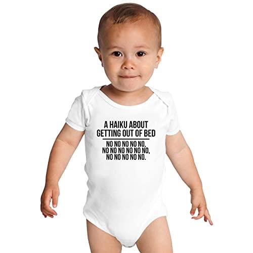 Huang Un Haiku sobre cómo salir de la cama para bebés