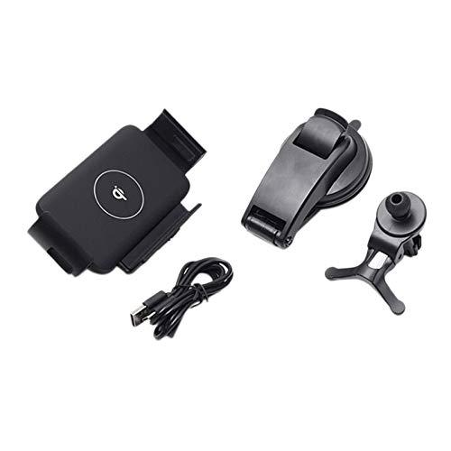 CareMont Cargador InaláMbrico Universal para Coche de 10 W QI Soporte de Carga RáPida Soporte de TeléFono para 12 11 XS MAX Fold Z