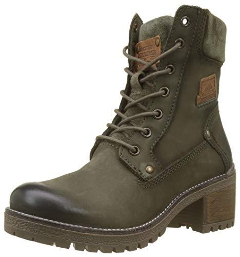 Dockers by Gerli Damen 43LN201 Combat Boots, Grau (Khaki 850), 40 EU