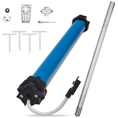 RolloTube M-line Medium Komplettset, 20 Nm, SW60 - Automatisierungs-Set Standard - Rohrmotor Rollladenmotor - selbstlernend, Positionserfassung, Blockiererkennung (MLIM 20/16PZ-AS, 26602000)