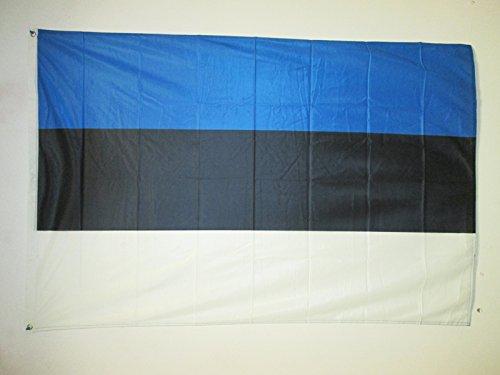 AZ FLAG Bandera de Estonia 150x90cm Uso Exterior - Bandera Estonia 90 x 150 cm Ojales