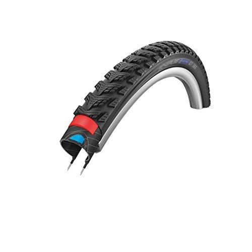 Schwalbe Drahtreifen, vier Jahreszeiten, Dual-Schutz-Reifen, schwarz, 28 x 1.75
