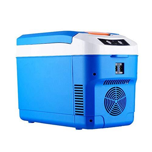 ZJY Refrigerador portátil de 10 V para automóvil de 12 V, Enfriador eléctrico, Calentador: Ventilador silencioso fortalece el Chip del disipador de Calor - para la Familia, la Oficina, el Campamento