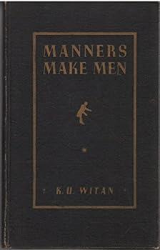 Hardcover Manners Make Men Book