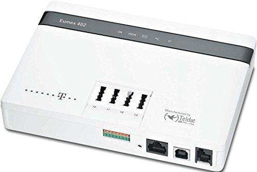 Telekom Eumex 402 ISDN-Telefonanlage für 4-analoge Geräte weiß