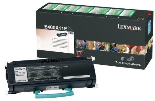 Lexmark 0E460X31E Toner Return Program Corporate Cartridges, Nero
