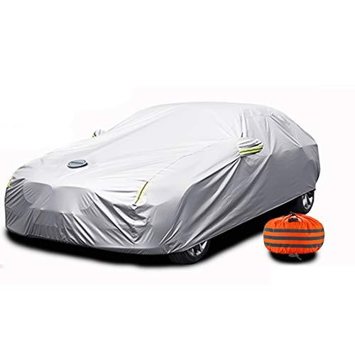 Car Cover Vollständige Anpassung des Regenschirms An Die Suzuki-Außenabdeckung Wasserdicht, Winddicht, Kratzfest UV-Schutz Frühling Sommer Herbst Winter(Size:Schnell)
