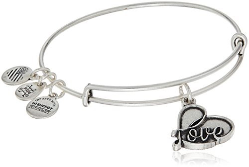 Alex and Ani Love IV Charm Bracelet