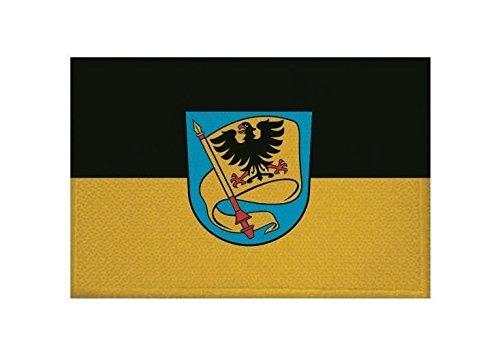 U24 Aufnäher Ludwigsburg Fahne Flagge Aufbügler Patch 9 x 6 cm
