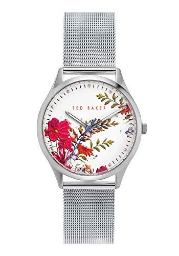 Ted Baker Belgravia 36 mm Women's Silver-Tone Mesh Watch BKPBGS014