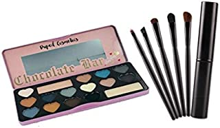 Semi Sweet Eyeshadow Palette + 5pcsTool Foundation Eyeshadow Brush Set