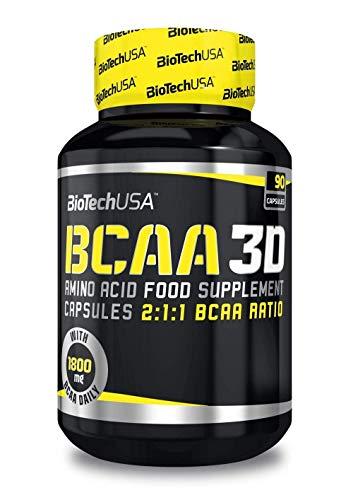Biotech USA Bcaa 3D Aminoácido - 90 cápsulas