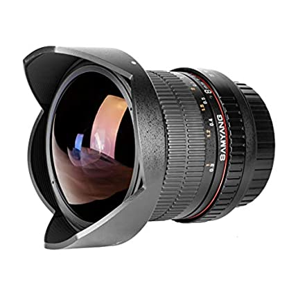SAMYANG 8 mm f/3.5 UMC CS II fisheye lens - for Canon