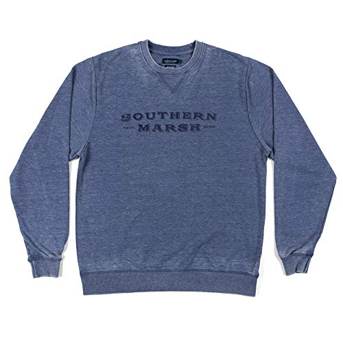 Seawash Rally Sweatshirt, Washed Navy, Small