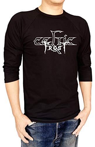 Celtic Frost Metal Band Logo Baseball Tee Raglan 3/4 Sleeve Men's T Shirt,T-Shirts & Hemden(Medium)