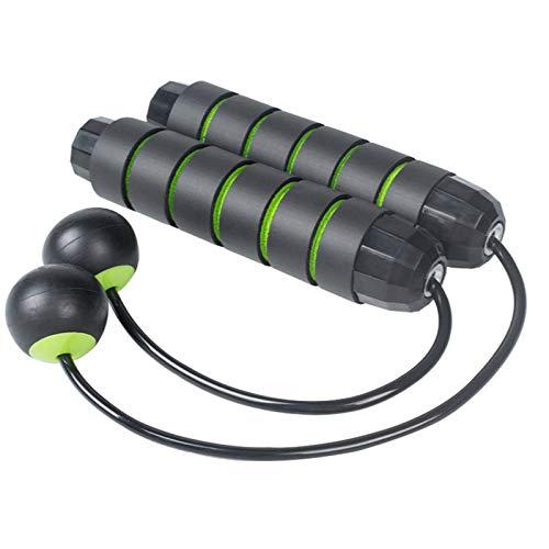 N&A Cuerda para Saltar Verde Cuerda para Saltar Inalámbrica Entrenamiento Físico para Interiores y Exteriores Pérdida de Peso para Deportes Fitness Pérdida de Peso para Deportes Fitness