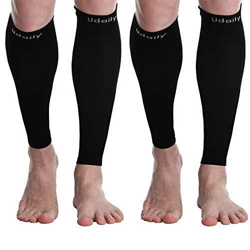 Udaily Vadstödstrumpor för män och kvinnor (20-30 mmhg) - stödstrumpor för vadstöd för benhinneinflammation och vadsmärtlindring