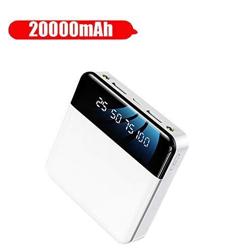 Power Bank 20000 mah, voor xiao mi iphone Power Bank draagbare snellader Power Bank externe batterij voor mobiele telefoons