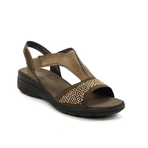 IMAC - Sandalia 708120-BRO para: Mujer Color: Bronze Talla: 37