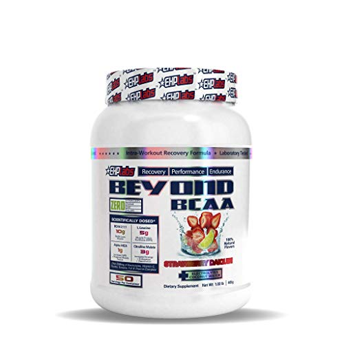Beyond BCAA by EHPlabs - BCAA Powder for Performance, Recovery, Endurance & Muscle Building (Strawberry Daiquiri)