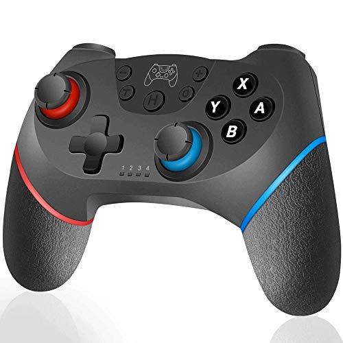 WXH-00 Actualizado para Bluetooth Gamepad Switch Pro Controller Interruptor de conmutador inalámbrico Interruptor Remoto Gamepad Joystick