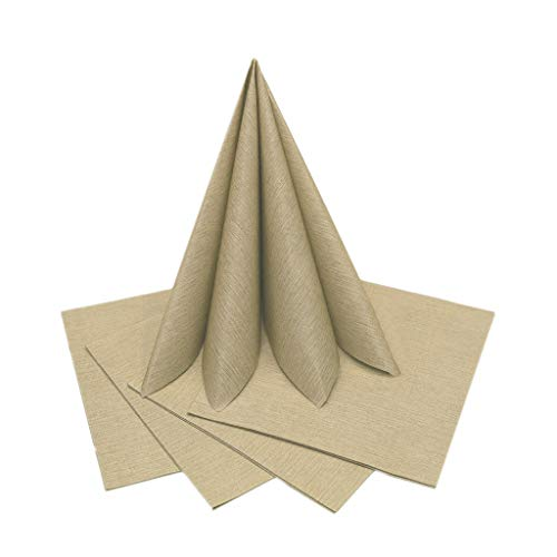 the napkins Serviette, Gelb