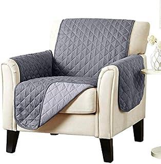 Fiween Cubierta de la Silla para el Perro, sofá de la Silla de Fundas para Muebles Protector antipatinaje Reversible Sillón Cubierta Lavable
