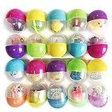 Ogquaton Transparente Kapseln Überraschungseier, Überraschungspuppe Spielzeug Geschenke für Ostern Jagd Kids Party Favors Dekoration, 1 Stück Premium-Qualität
