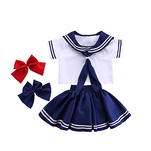Halloween kostuum navy kraag Japans matrozenpak fotografie meisjes kleuterschool matrozen kruiwagen cospaly pak unisex pak
