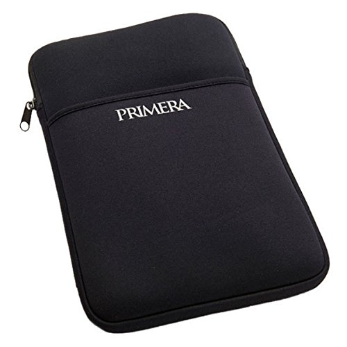 Primera Trio Neoprene Protective Travel Sleeve with Pocket, Black