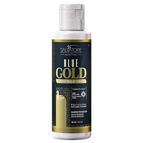 SALVATORE Shampoo Anti-Residuos Blue Gold, 100 ml