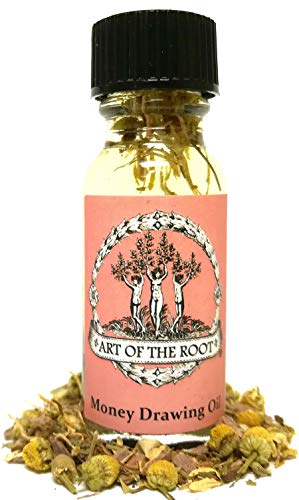 Money Drawing Oil for Wealth, Cash, & Financial Success Hoodoo Voodoo Wiccan Pagan Conjure